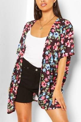 boohoo Ditzy Floral Kimono
