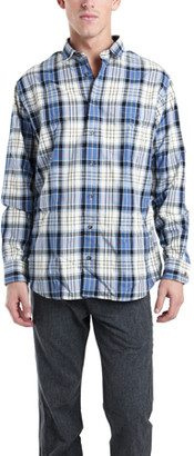 Blue & Cream Blue&Cream Flannel Shirt