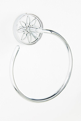 Anthropologie Jardin Towel Ring By in Silver