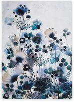 Graham & Brown Moody Blue Watercolor Canvas Wall Art