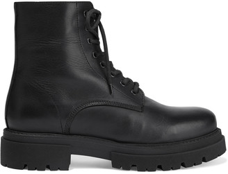 Iris & Ink Hailey Leather Combat Boots