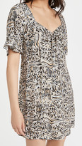 Thumbnail for your product : HVN Mini Emily Sweetheart Dress
