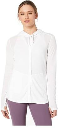Exofficio BugsAway(r) Lumen Full Zip Hoodie (White) Women's Sweatshirt