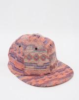 Asos Festival Vintage Baseball Cap In Jacquard