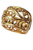 Jose & Maria Barrera Sculptured Hinged Cuff