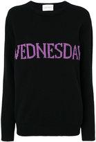 Alberta Ferretti embroidered sweater - women - Cashmere/Virgin Wool - 38