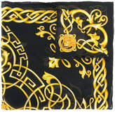Versace Celtic Baroque Medusa neck scarf