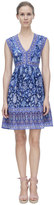 Rebecca Taylor Sleeveless Dreamweaver V-Neck Dress