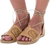 Yoki Iric Espadrille Sandals - Vegan Leather (For Women)