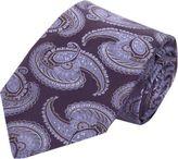 Barneys New York Large Paisley Tie