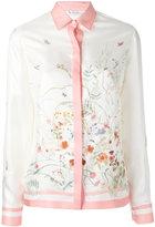 Loro Piana floral print shirt - women - Silk - 44