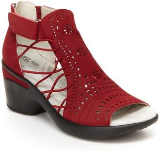 Jambu JBU by Dress Wedge Sandals - Nelly Encore
