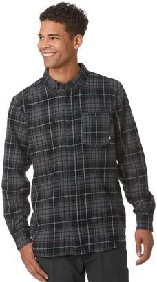 Vans Men's Plaid Flannel Button-Down Shirt