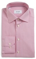 Eton Men's Trim Fit Solid Dress Shirt