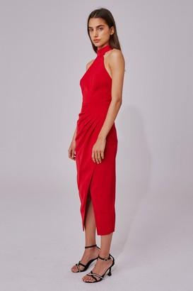 C/Meo CALIBER DRESS red