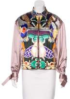 Mary Katrantzou Totem Satin Jacket