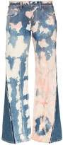 Duran Lantink Upcycled tie-dye jeans
