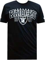 New Era NFL Oakland Raiders Team Arch Tee Fan T T-Shirt M,L,XL,XXL Herren Mens