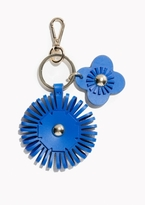Other Stories Leather Flower Keyring