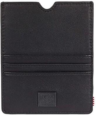 Herschel Eugene Leather RFID (Black) Wallet