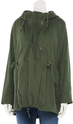 Modern Eternity Maternity 3-in-1 Military Style Jacket