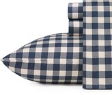 Eddie Bauer 216301 Preston Flannel Sheet Set, Full, Navy