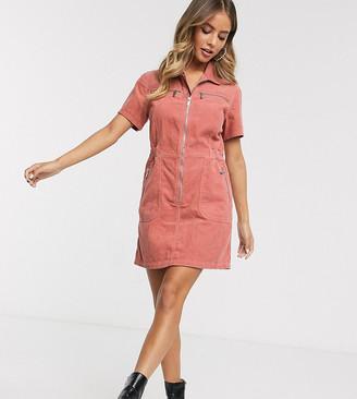 Urban Bliss shirt dress in cord