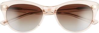 Salt Hillier 55mm Polarized Cat Eye Sunglasses
