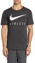 Nike Men's 'Swoosh Athlete' Dri-Blend Mesh Graphic T-Shirt