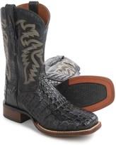"Dan Post Everglades Midnight Caiman Cowboy Boots - Square Toe, 11"" (For Men)"