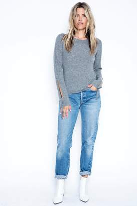 One Grey Day Kelly Cashmere Sweater
