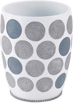 Avanti Dotted Circle Wastebasket