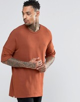 Criminal Damage T-shirt With Dropped Shoulder