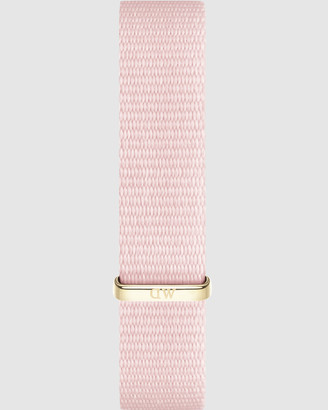 Daniel Wellington Nato Strap Petite 12 Rosewater Watch Band - For Petite 28mm