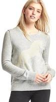 Gap Intarsia horse sweater
