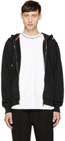 Diesel Black Destroyed S-Hara Zip Hoodie