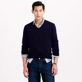 J.Crew Rugged cotton V-neck sweater