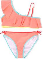 Chloé Kids - teen one shoulder bikini - kids - Polyamide/Spandex/Elastane - 14 yrs