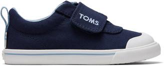 Toms Navy Canvas Tiny Doheny Sneakers
