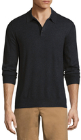 Jack Spade Buttoned Sweater Polo