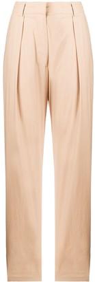 Baum und Pferdgarten High-Waisted Pleat Detail Trousers