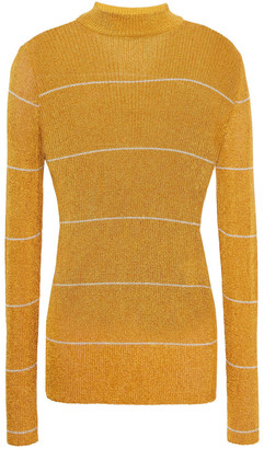 Missoni Metallic Striped Knitted Sweater