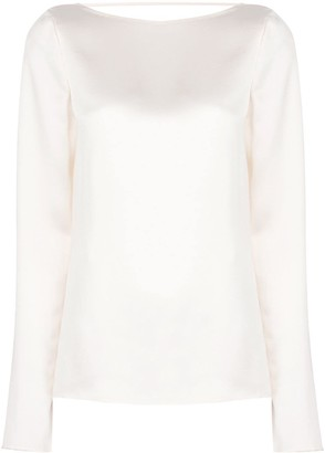 Jason Wu Collection Draped Back Blouse