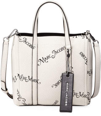 Marc Jacobs THE) x New York Magazine The Tag Leather Tote Bag