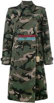 Valentino camouflage military coat