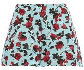 Alice + Olivia Floral-jacquard Shorts