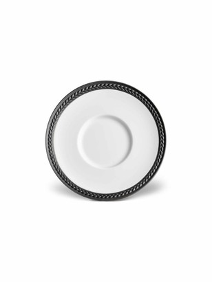 L'OBJET Soie Tressee Collection Braided Porcelain Plate