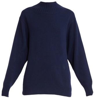 Chloé Tie-Back Cashmere Sweater