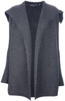 Vince Oversized collar cardigan