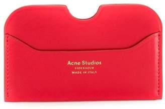Acne Studios logo stamped card holder
